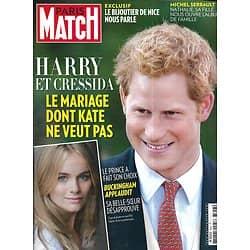 PARIS MATCH n°3357 19/09/2013  Prince Harry/ Serrault/ Jean d'Ormesson/ Kennedy