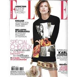 ELLE n°3535 27/09/2013  Spécial Cheveux/ Bette Franke/ Karl Lagerfeld/ Isabel Marant/ Naomi Watts
