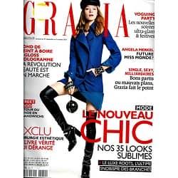 GRAZIA n°210 27/09/2013  Mode nouveau chic/ Beaux & riches/ Le Pape/ Dieudonné
