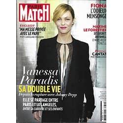 PARIS MATCH n°3359 03/10/2013  Vanessa Paradis/ Bertrand Cantat/ Maxime Le Forestier/ Pape François
