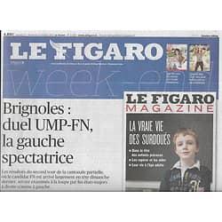 LE FIGARO n°21520 12/10/2013  Duel UMP-FN à Brignoles/ Belmondo/ Retraites & pénibilité