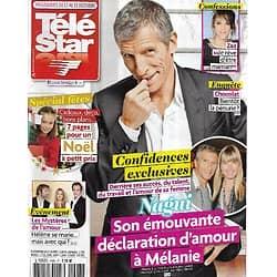 TELE STAR n°1993 13/12/2014  Nagui, confidences/ Zaz/ Alizée/ Hélène Rollès/ Marlon Brando/ Spécial fêtes