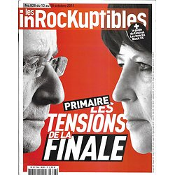 "LES INROCKUPTIBLES n°828 12/10/2011  Primaire PS/ ""Breaking bad""/ La Virilité/ Orelsan & Virginie Despentes"