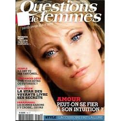 QUESTIONS DE FEMMES (POCKET) n°180 novembre 2012  Patricia Kaas/ Amour&intuition
