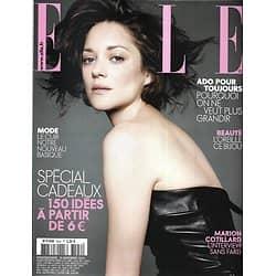ELLE n°3542 15/11/2013  Marion Cotillard/ Grace Kelly/ Alain-Fabien Delon/ Mode Cuir
