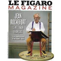 LE FIGARO MAGAZINE n°21525 18/10/2013  Jean Rochefort/ L'envers de Madagascar/ Grand Nord/ Spécial souliers