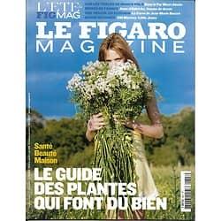 LE FIGARO MAGAZINE n°20533 07/08/2010   Guide des plantes bien-être/ Marco Polo/ La Corse de JM Rouart