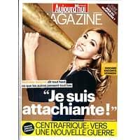 AUJOURD'HUI EN FRANCE MAGAZINE N°4395 22 NOVEMBRE 2013  MATHILDE SEIGNER