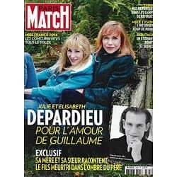 PARIS MATCH n°3367 28/11/2013  Les Depardieu/ Mike Tyson/ Miss France/ G.Lautner/ Orlando Bloom/ Daniel Auteuil