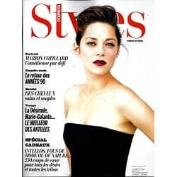 L'EXPRESS STYLES N°3255 20 NOVEMBRE 2013  MARION COTILLARD/ SPECIAL CADEAUX