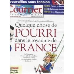 COURRIER INTERNATIONAL n°990 22/10/2009  Quelque chose de pourri au royaume de France/ Turquie-Arménie