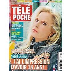 "TELE POCHE n°2490 02/11/2013  Sylvie Vartan se confie/ Alizée ""DALS""/ Gabin & Belmondo/ Chantal Goya"