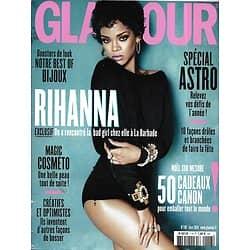 GLAMOUR n°118 janvier 2014 Rihanna/ Spécial Astro/ Best of bijoux/ Magic cosméto