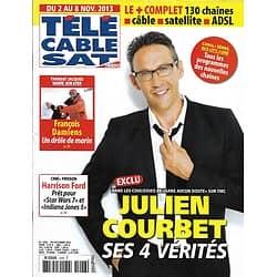 Télé Cable Sat n°1226 02/11/2013  Julien Courbet/ François Damiens/ Harrison Ford/ Terry O'Quinn