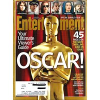 ENTERTAINMENT WEEKLY N°1243-44 JANUARY 25, 2013  OSCAR!/ CHASTAIN/ HATHAWAY