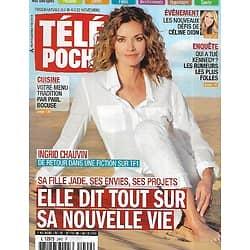 TELE POCHE n°2492 16/11/2013  Ingrid Chauvin nous dit tout/ JFK-Kennedy/ Céline Dion/ Coulisses de Roissy