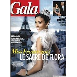 GALA n°1070 11/12/2013  Miss France: Coquerel/ Mandela/ Shy'm/ Christophe Malavoy/ Jennifer Garner