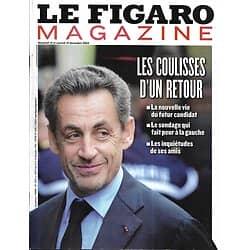 LE FIGARO MAGAZINE n°21573 13/12/2013  Retour de Sarkozy/ Mandela/ Maldives/ Cartier