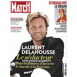 PARIS MATCH n°3372 01/01/2014  Laurent Delahousse/ Séducteurs français/ Michael Schumacher/ Taubira/ Dakar du coeur