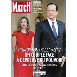 PARIS MATCH n°3374 15/01/2014  François Hollande & Valérie Trierweiler/ Dieudonné/ Célèbres Top Modèles