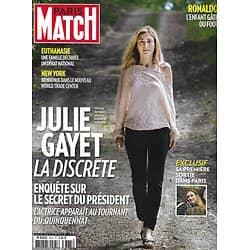 PARIS MATCH n°3375 22/01/2014  Julie Gayet/ Ronaldo/ One World Trade Center/ Riley Keough