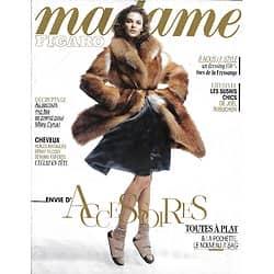 MADAME FIGARO n°21607 24/01/2014  Accessoires/ Inès de la Fressange/ Joël Robuchon