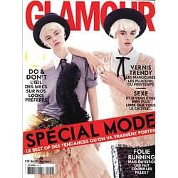 GLAMOUR n°120 mars 2014  Spécial Mode/ Sexe/ Running/ Claudia Schiffer/ Beauté Tendances