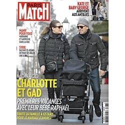 PARIS MATCH n°3377 06/02/2014  Charlotte Casiraghi & Gad Elemaleh/ Syrie/ Baby George/ Margot Robbie