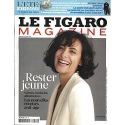 LE FIGARO MAGAZINE n°20843 06/08/2011  Rester Jeune: nouvelles recettes anti-âge/ Inès de la  Fressange/ L'Amérique de Douglas Kennedy/ Télescopes européens