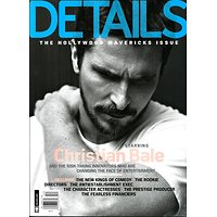 DETAILS DECEMBER 2013-JANUARY 2014  CHRISTIAN BALE/ THE HOLLYWOOD MAVERICKS ISSUE