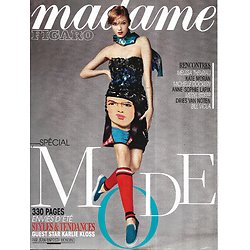 MADAME FIGARO n°21637 28/02/2014  Spécial Mode/ Karlie Kloss/ Meryl Streep/ Dries Van Noten/ Detroit/ Stars en série