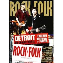 ROCK&FOLK N°560 AVRIL 2014  DETROIT/ CANTAT/ SHAKA PONK/ ROLLING STONES/ STRANGLERS