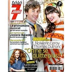 TELE 7 JOURS n°2806 08/03/2014  Nolwenn Leroy & Thomas Dutronc/ Josiane Balasko/ Pharrell Williams/ Salma Hayek