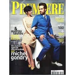 PREMIERE n°434 avril 2013  Audrey Tautou, Romain Duris, Gondry/ Gondry/ Soderbergh/ Kar-Wai