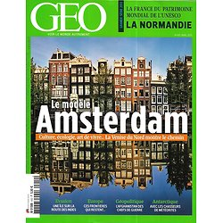 GEO n°410 avril 2013  Le modèle Amsterdam/ Afghanistan/ La Normandie/ Météorites/ Ile de Mozambique