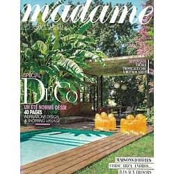 MADAME FIGARO n°21679 18/04/2014 Spécial Déco/ Maisons d'hôtes/ Agnès B/ Outdoor