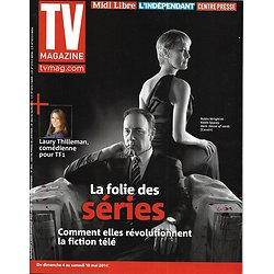 "TV MAGAZINE n°21690 04/05/2014  Folie des séries/ ""House of Cards""/ Laury Thilleman/ Philippe Etchebest"