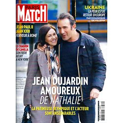 PARIS MATCH N°3389 30 AVRIL 2014  DUJARDIN&PECHALAT/ UKRAINE/ BOON/ CAMILLA/ PAPES