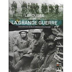 """""""Larousse de la Grande Guerre"""" Première Guerre Mondiale 1914-1918/ Livre relié très grand format"""