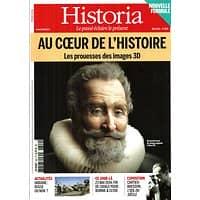 HISTORIA N°809 MAI 2014  AU COEUR DE L'HISTOIRE: LES PROUESSES DES IMAGES 3D