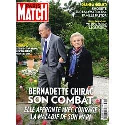 PARIS MATCH n°3391 14/05/2014  Jacques Chirac/ Affaire Pastor/ Spécial Brésil/ Europe/ Carole Bouquet/ MET Gala