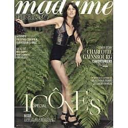 MADAME FIGARO n°21702 16/05/2014  Charlotte Gainsbourg/ Penélope Cruz/ Actrices françaises/ Deepak Chopra