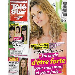 TELE STAR n°1965 26/05/2014  Ingrid Chauvin/ Jenifer/ Mathilde Seigner/ Josiane Balaskp/ Angelina Jolie/ le Débarquement
