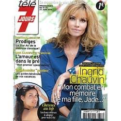 TELE 7 JOURS n°2821 21/06/2014  Ingrid Chauvin/ Franck Dubosc/ Giroud & Valbuena/ Eva Green/ Miami Beach
