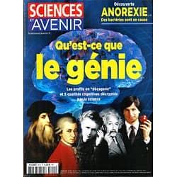SCIENCES ET AVENIR n°815 janvier 2015  Qu'est-ce que le génie?/ Anorexie/ Philae/ Tsunami/ Mars