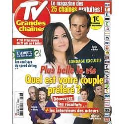 "TV GRANDES CHAINES n°267 21/06/2014  ""Plus Belle La Vie""/ ""Scandal""/ Guy Bedos"