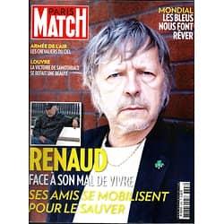 PARIS MATCH N°3398 3 JUILLET 2014  RENAUD/ LES BLEUS/ ARMEE DE L'AIR/ IRAK/ SAMOTHRACE