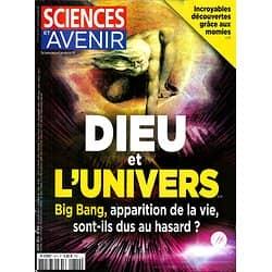 SCIENCES ET AVENIR n°810 août 2014  Dieu & l'Univers/ Momies/ Insectes/ Mars/ Corail