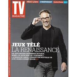 TV MAGAZINE n°21762 27/07/2014   Julien Courbet/ Jeux télé/ Grégory Cuilleron