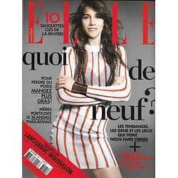 ELLE n°3581 15/08/2014  Charlotte Gainsbourg/ Shailene Woodley/ Adèle Haenel/ Best of de la Rentrée